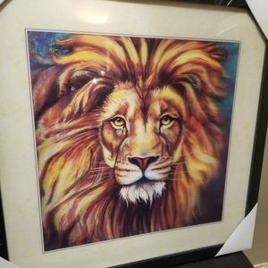 🐾 Holographic Art Lion Eyes 🐾